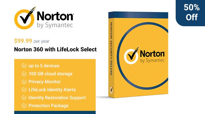 Norton 360 avec LifeLock Select
