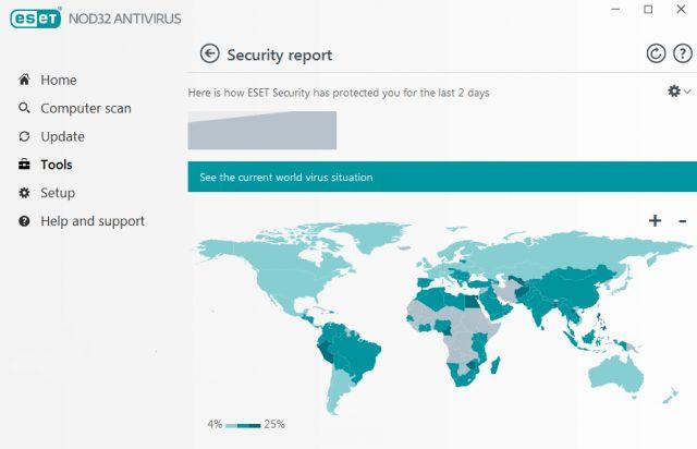Eset Nod 32 - révision de l'antivirus.