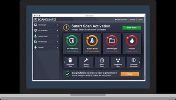 ScanGuard Examen et prix pour Android et PC.