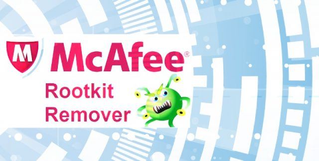 McAfee Rootkit Remover - anti keylogger.