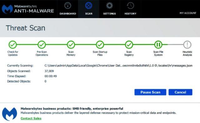 Revue de Malwarebytes : Analyse des menaces de Malwarebytes.