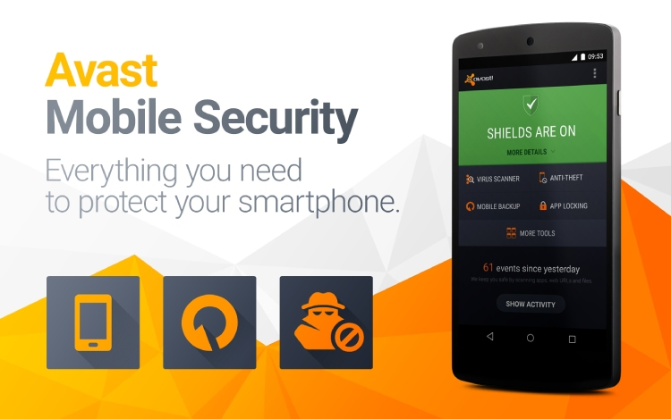 Révision de la sécurité mobile d'Avast pour Android en 2021.