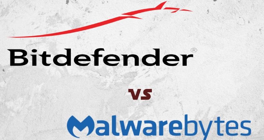 Comparaison entre Bitdefender et Malwarebytes.