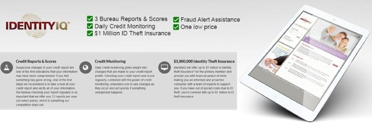 Assurance contre le vol d'identité IdentityIQ.