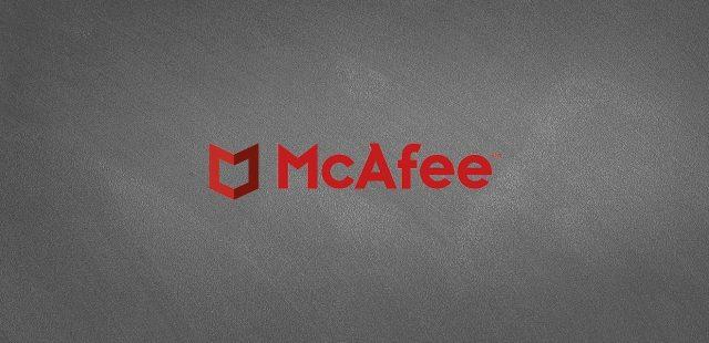 McAfee Antivirus.